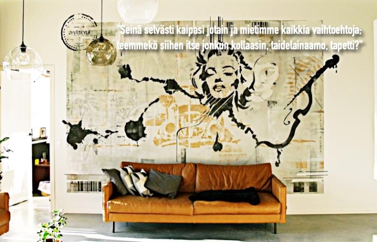 SeinämaalausMarilyn_quote_huonostimaalatut